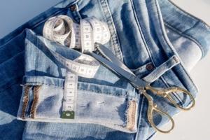 Подшив одежды